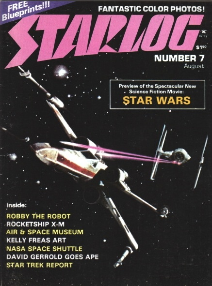 starlog magazine cover issue 373 march 2009 john zipperer